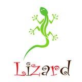 Lizard logo Stock Image
