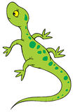 Lizard. Vector clip-art / children's book illustration for yours design Stock Photography