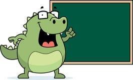 Lizard Blackboard Stock Images