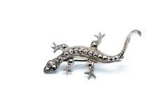 Free Lizard Brooch Stock Photo - 35696320