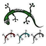 Lizard cartoon Royalty Free Stock Images