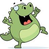 Lizard Dancing Stock Photos