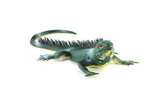 Lizard iguana toy Royalty Free Stock Photography