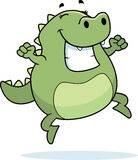 Lizard Jumping Royalty Free Stock Images