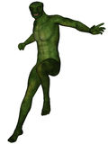 Lizard man Royalty Free Stock Images