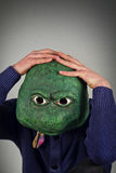 Lizard Mask Sweater Royalty Free Stock Photography
