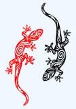 Lizard ornate Royalty Free Stock Photo