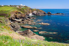 Lizard Point Cornwall England UK Stock Photos