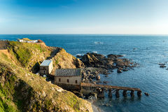 Lizard Point in Cornwall Stock Photos
