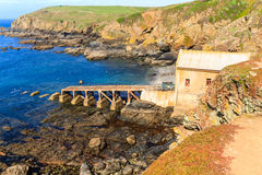 Lizard Point, Cornwall, UK Stock Photography