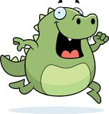 Lizard Running Royalty Free Stock Image