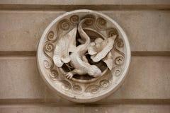 Lizard Sculpture Stock Photography