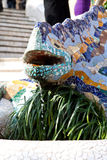 Lizard statue Royalty Free Stock Photo