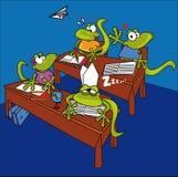 Lizards in school Stock Photography