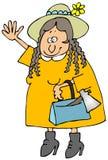 Lizzie B ilustração do vetor