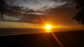 LJaco海滩哥斯达黎加 免版税库存照片