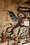 Ljubjanadraak, Slovenië royalty-vrije stock foto
