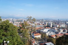 ljubljana Словения стоковое изображение rf