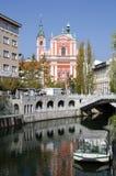 Ljubljana lizenzfreie stockbilder