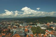 Ljubljana stock image