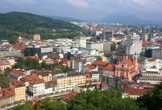 Ljubljana from Above Stock Images