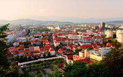 Ljubljana, capital city of slovenia Stock Image