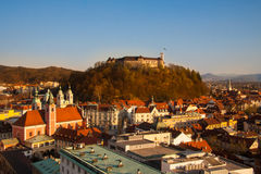 Ljubljana, capital of Slovenia. Royalty Free Stock Photo