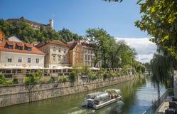 Ljubljana, capital of Slovenia Royalty Free Stock Photography