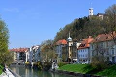 Ljubljana, capital of Slovenia, Europe Royalty Free Stock Images