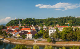 Ljubljana, capital of Slovenia Stock Photos