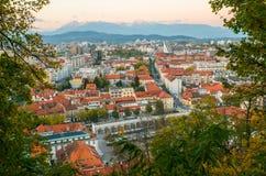 Ljubljana, capital of Slovenia Stock Photos