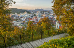 Ljubljana, capital of Slovenia Stock Photography