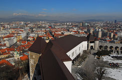Ljubljana Castle Royalty Free Stock Images