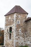 Ljubljana castle royalty free stock images