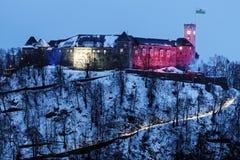 Ljubljana Castle. Ljubljana, Slovenia Royalty Free Stock Photography