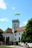 Ljubljana castle - Ljubljanski grad, Slovenia, Europe. royalty free stock image
