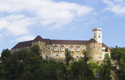 Ljubljana castle, Slovenia, Europe Stock Photo