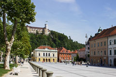 Ljubljana Castle Royalty Free Stock Photography