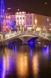 Ljubljana city lights Stock Photos