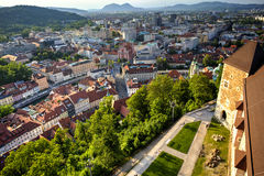 Ljubljana city, Slovenia royalty free stock photo