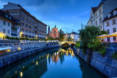 Ljubljana city, Slovenia Royalty Free Stock Images