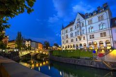Ljubljana city, Slovenia Stock Image