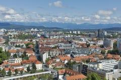 Ljubljana cityscape, Slovenia Royalty Free Stock Photo