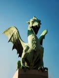 Ljubljana dragon Stock Image