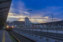 Ljubljana dworzec Obraz Stock