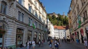 Ljubljana Eslovênia imagens de stock royalty free