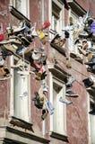 Zapatos colgantes Foto de archivo libre de regalías