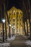 Iglesia de Ursuline en Ljubljana Fotos de archivo
