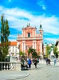 Ljubljana Old Town Stock Photography