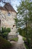 Ljubljana-Schloss, Slowenien stockfotos